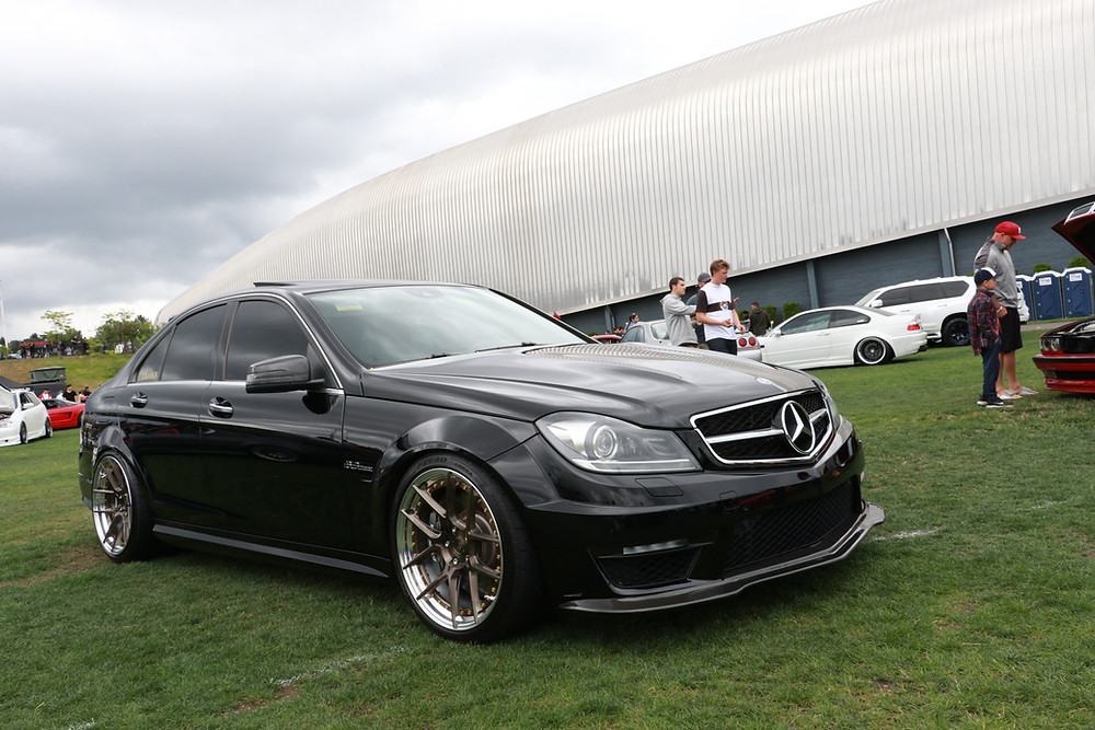 black w204 c63 with bc forged gold wheels carbon fiber body kit similar to vorsteiner future design rw jl mode psm brabus modbargain ebay aliexpress