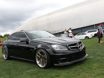 Clean W204 C63 at SuperStreet LeMay Seattle RWB #5 Build Car Show