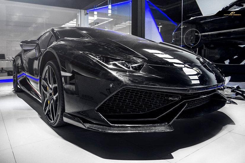 Lamborghini Huracan - Semplice 2 Pieces Front Lip Kit