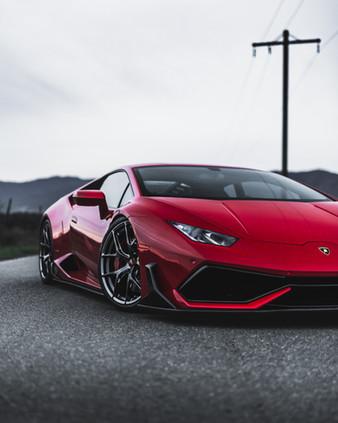 HOT RAZZO Carbon Fiber Body Kit for Lamborghini Huracan