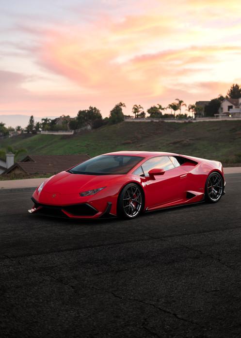 Lamborghini Huracan Razzo Front Lip Set