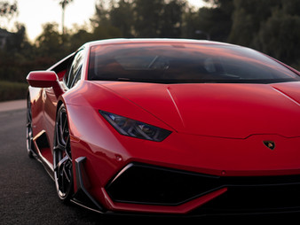 Huracán with Future Design RAZZO Carbon Fiber Aero Kit