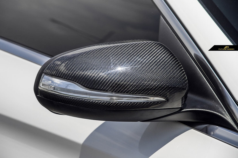 Benz W205 W213 W238 Carbon Fiber Side Mirror Replacement Covers