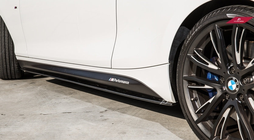 F22 2-Series M235i 240i 228i 230i M-Sport M-Performance Carbon Fiber Side Skirt Splitters