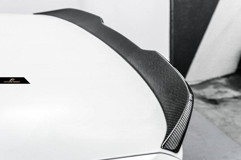 BMW G30 F90 M5 5 series 540I 530I m550I fitment carbon fiber replica copy oem m-performance competition series cs spoiler