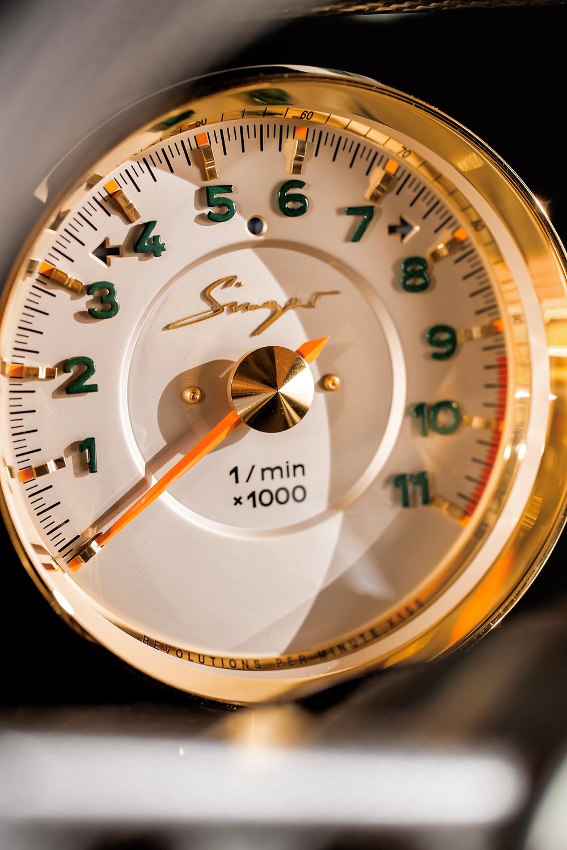 singer 964 DLS tachometer