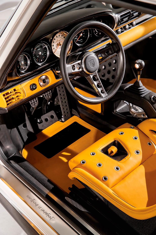 singer 964 DLS interior