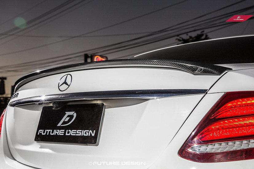 Benz W213 E-Class Carbon Fiber Rear Trunk Spoiler