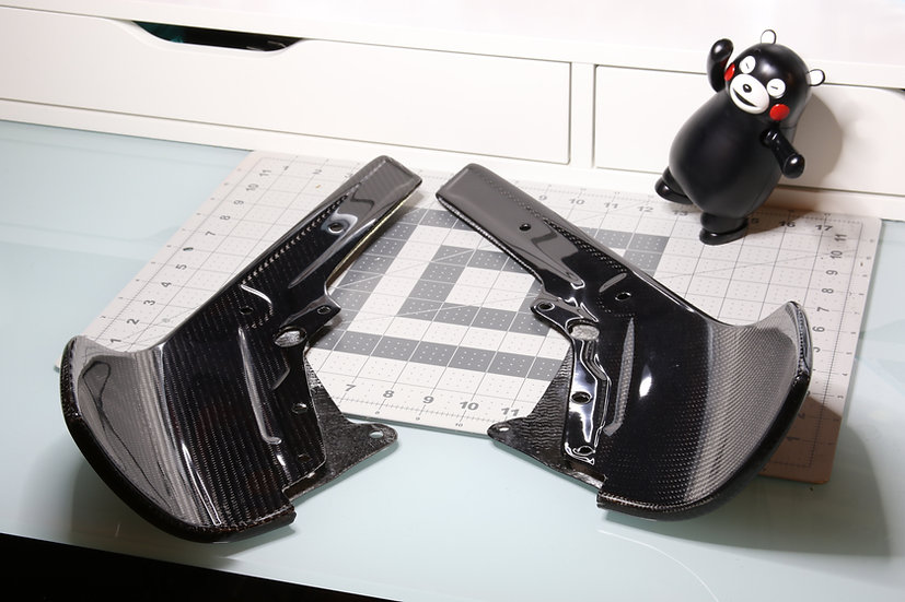 BMW F87 M2 Carbon Fiber Front lip Splitters