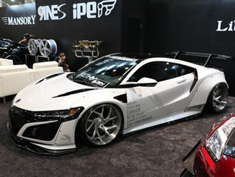 Liberty Walk Widebody 2017 Acura NSX at SEMA