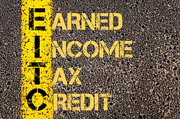 Concept image of Business Acronym EITC a
