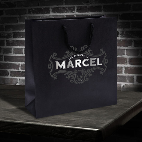 Shopping bag Les Ateliers de Marcel