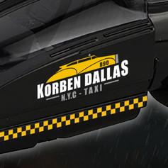 Logo Taxi Korben Dallas - Le 5ème Élément