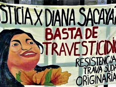 Crimen de odio a la identidad de femineidad travesti: Amancay Diana Sacayán