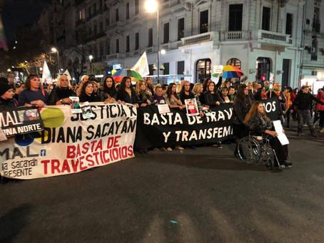 Géneros en disputa: Tercera Marcha de los travesticidios y transfemicidios
