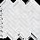 """Thumbnail: Carrara 1""""x3"""" Herringbone Polished Marble Mosaic"""