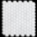 "1"" Hexagon Carrara Marble Polished Item# 212111"