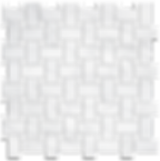"""1""""x2"""" Basketweave with White Dots Polished Item#212311"""