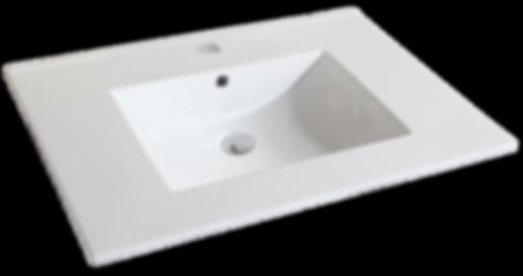 "31"" White - Ceramic Countertop (22"" Deep  Item#TC-S3122W1"