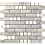 Thumbnail: Aspire Carrara+Thassos Polished Marble Mosaic