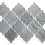 Thumbnail: Envision Arabesque Mont Blanc Glass Mosaic