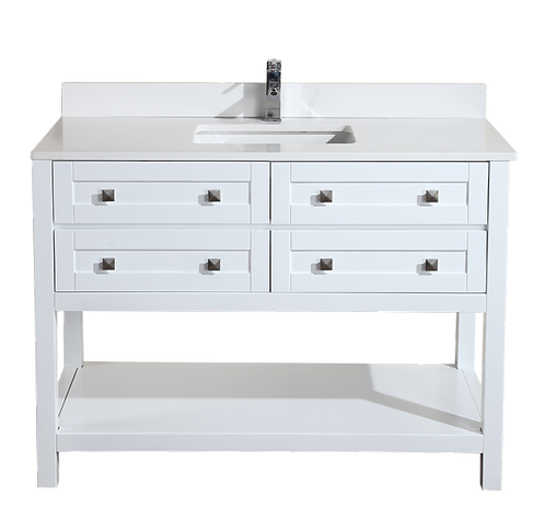 "Royale 48"" Vanity - White"