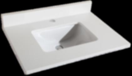 "31"" Pure White Quartz Countertop Item#TQ-S3122W1"