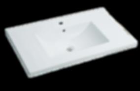 "31"" White - Ceramic Countertop (18"" Deep) Item#TC-S3018W1"