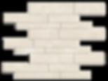 Crema Pearl Marble Mosaic Random Strip Polished Item#312281