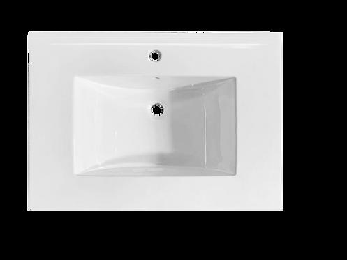"""31"""" Ceramic Top With Integral Bowl (22"""" Depth)"""