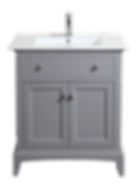 "Harmony 30"" Vanity - Spanish Gray Item#HA-V3022SG"