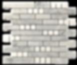 Aspire Marble Mosaic Carrara + Thassos Polished Item#812211