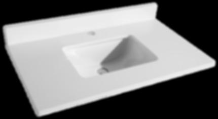 "37"" Pure White Quartz Countertop Item#TQ-S3722W1"