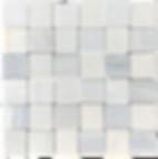 """Twilight Marble Mosaic - 2""""x2"""" Basketweave Polished Item#921791"""