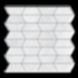 Impression Marble Mosaic Carrara Multi Finish Item#112714