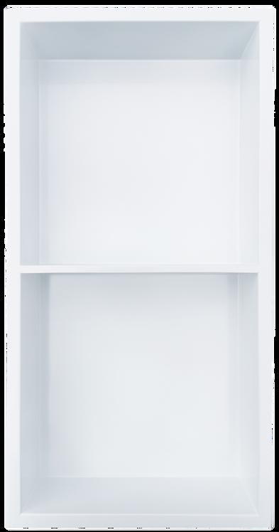 """12""""x24"""" White with Shelf (50/50)"""