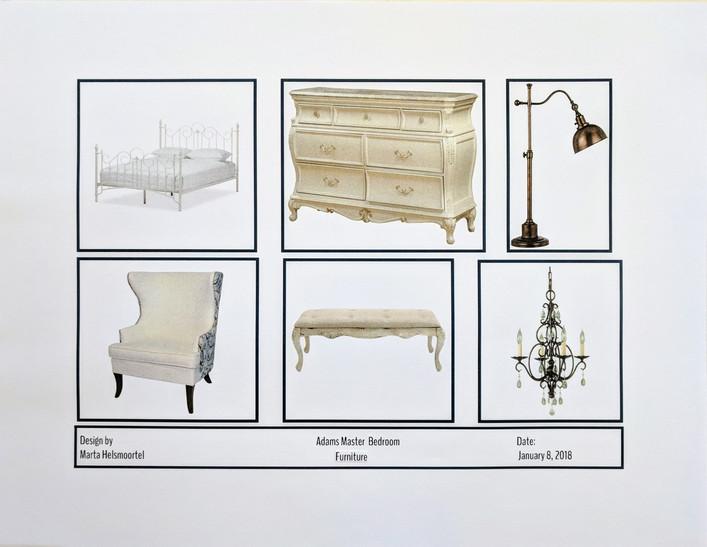 Bedroom Furniture Plan