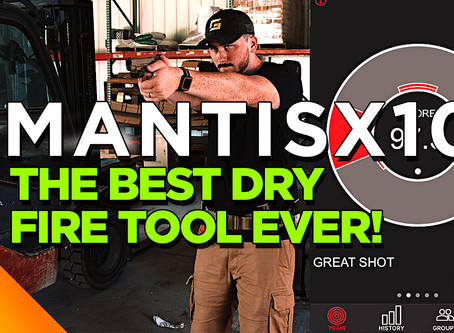 The Best Dry Fire Tool Ever! - MantisX10 Elite Review