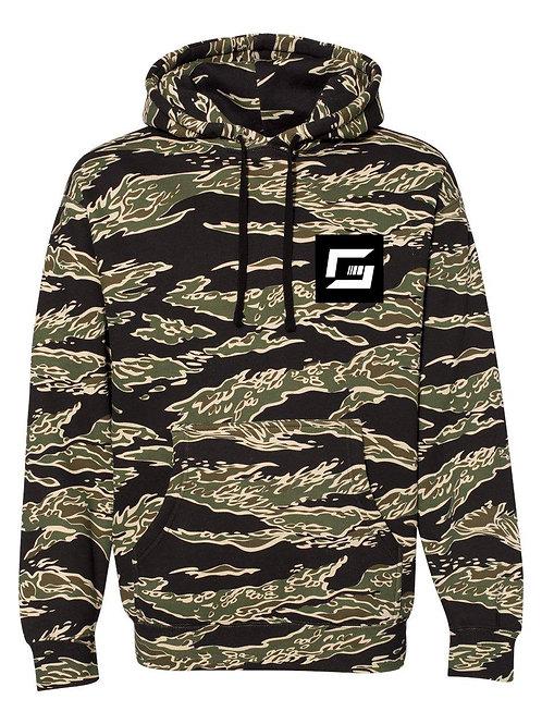(Pre-Order) GunSpot Tiger Camo Hooded Sweatshirt