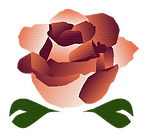 Photo of business logo, a rose