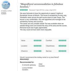 Trip Advisor Review 1