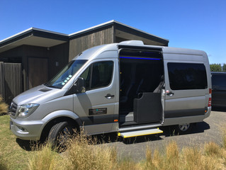 Our LUXURIOUS Sprinter Bus !