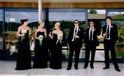 Men and Ladies in Black