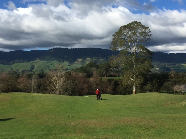 12th at Matamata - a scorecard wrecker if ever there was one!