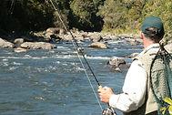 Fishing the Whangarei River