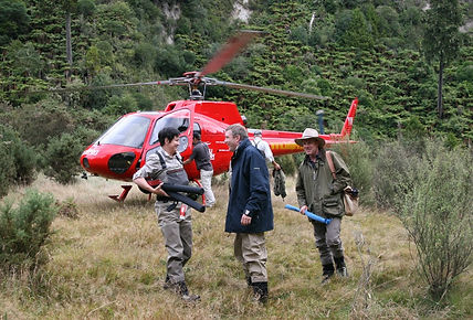 Heli Fishing the North Island Rivers of New Zealand