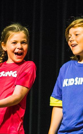 KidSing dancers
