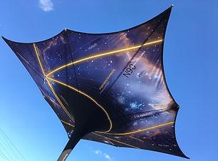 Sonnenschirm bedrucken, Werbeschirm