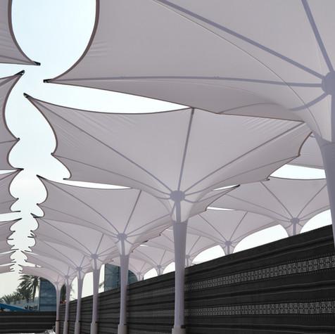 Sonnenschirm Event Sonnenschutz und Regenschutz