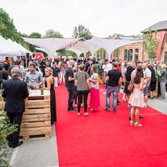 Eventschirme und Designschirme bei Veranstaltung